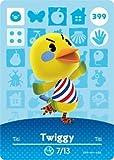 Twiggy- Nintendo Animal Crossing Happy Home Designer Series 4 Amiibo Card -399