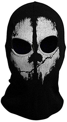 HD Trading Balaclava Hood Face Ghost Skull Mask Call of Duty Biker Halloween Skateboard Cos ()