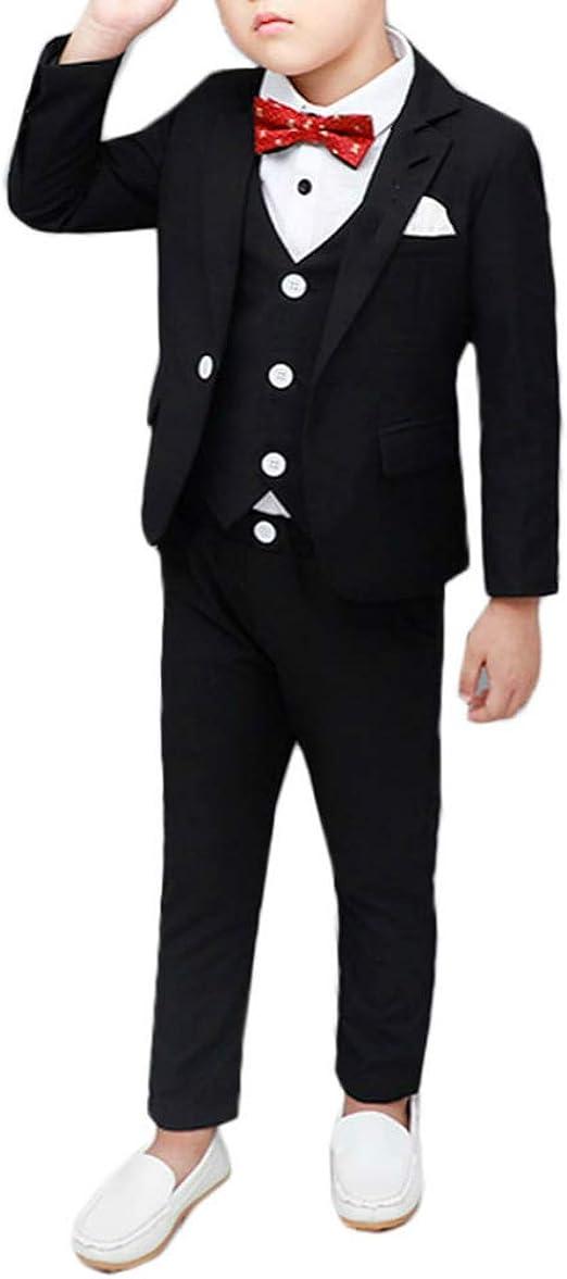 Amazon.com: Conjunto de traje de niño formal Slim Fit ...