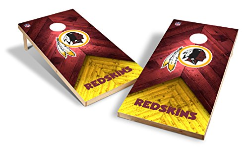 (Wild Sports NFL 2'x4' Washington Redskins Cornhole Set)