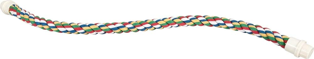 JW Pet Comfy Perch For Birds Flexible Multi-color Rope by JW