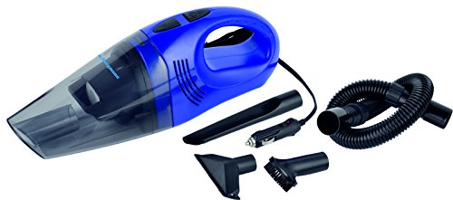 Bergmann Hurricane Hi-Power Car Vacuum Cleaner (Blue)