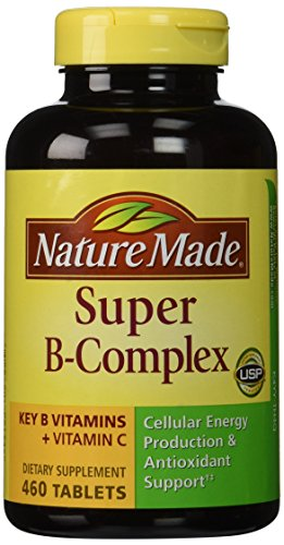 Nature Made Super B Complex 460 Tablets 2 Pack (Total 920 Tablets)
