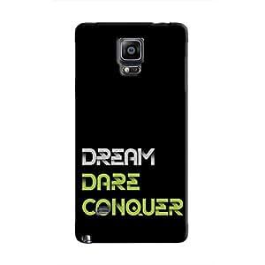 Cover It Up - Dream Dare Conquer Galaxy Note 4 Hard Case
