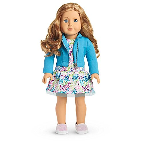 American Girl - 2017 Truly Me Doll: Light Skin, Curly Red Hair, Blue Eyes DN33 for cheap
