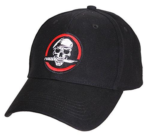 Deluxe Skull Cap (Rothco Skull/Knife Deluxe Low Profile Cap)