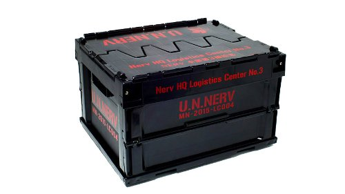Third depot container mini folding 2nd version Evangelion NERV headquarters (japan import) by Groove -