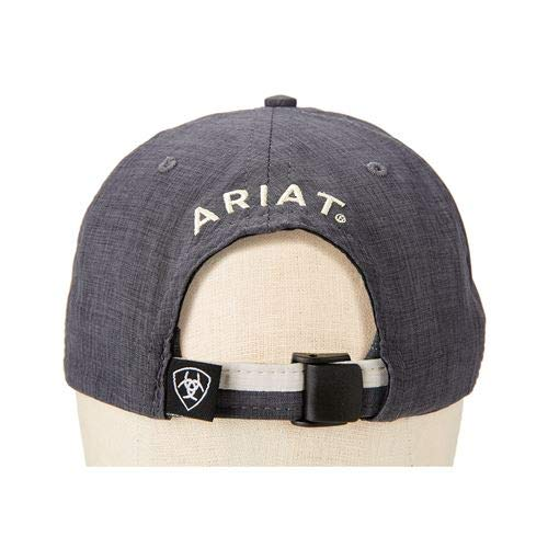 ARIAT Unisex Arena Hat Charcoal/Ivory One Size