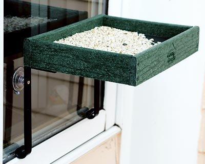 BestNest Audubon Going Green Window Bird Feeder ()