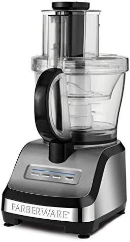 Applica FP3000FBS 550W Metálico - Robot de cocina (Metálico, Botones, 550 W): Amazon.es: Hogar