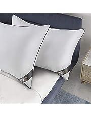 BedStory Pillows, Hotel Pillows 2 Pack Standard Size Sleeping Pillow Down Alternative Fibre Pillow
