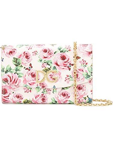 Dolce E Gabbana Donna Bi1028ai922hah41 Borsa A Tracolla In Pelle Rosa