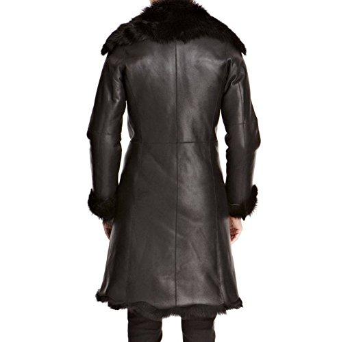 Oveja Longitud Invierno Rodilla La Abrigo 100 De Mujeres Lujo Shearling Piel qgZwxaI