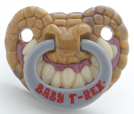 Amazon.com: Billy Bob Chupete Dientes 90046 bebé T-Rex: Baby