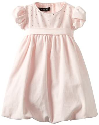 Biscotti - Twinkle Twinkle Infant & Toddler Girl's Sash Dress in Pink - Size 2T