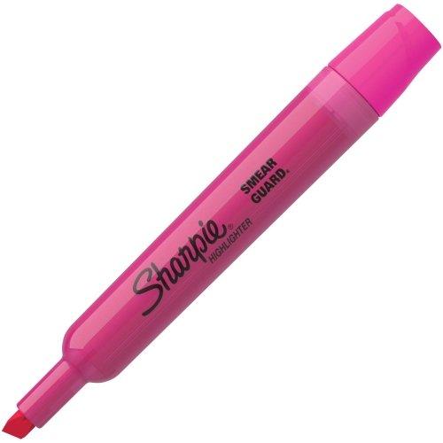(Sharpie 25009 Accent Tank Style Highlighter Chisel Tip Pink Dozen)