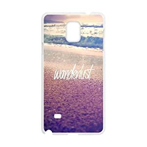 Samsung Galaxy Note 4 Cell Phone Case White_Wanderlust FY1562456