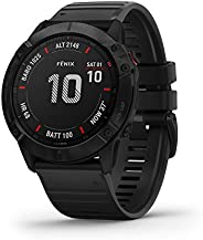 Garmin Fenix 6X Pro, Premium Multisport GPS Watch, features Mapping, Music, Grade-Adjusted Pace Guidance and P