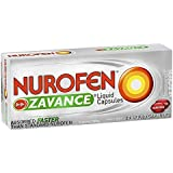Nurofen Zavance Liquid Capsules Pain Relief 200mg