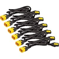 Apc Power Cord Kit (6 Ea), Locking, C13 To C14, 1.8M, North America . 10 A Current Rating . Black Product Type: Accessories/Power Cords