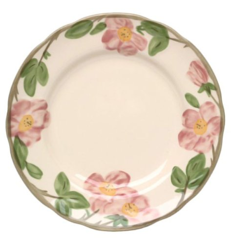 Wedgwood 5-26001-1006 Franciscan Desert Rose Dinnerware Collection, Dinner Plate 10.5 in.
