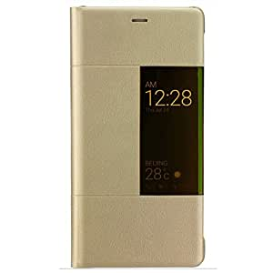HUAWEI P9 plus Rimless view Flip Cover FACTORY Case (GOLD)