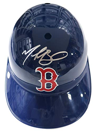 Mookie Betts Boston Red Sox Signed Autographed Signed Rawlings Full Size Souvenir Replica Batting Helmet PAAS COA