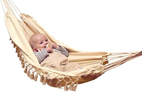 Lola Mobile Babyh/ängematte K/änguru mit Sicherheitsgurte f/ür unterwegs