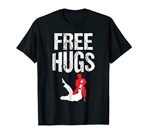 Cute Free Hugs Jiu Jitsu BJJ Martial Arts T-Shirt from Cute Free Hugs Jiu Jitsu BJJ Martial Arts T-Shirts