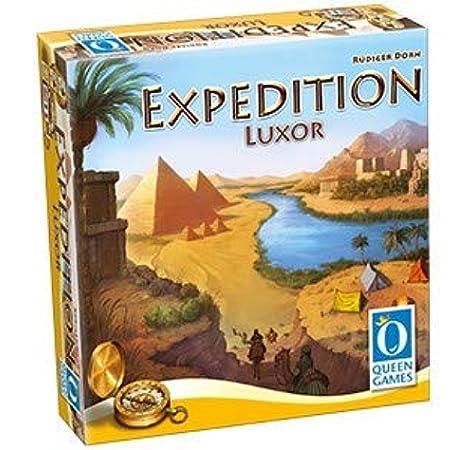 Queen Games 10382 Expedition Luxor - Juego de mesa, Multicolor: Amazon.es: Juguetes y juegos