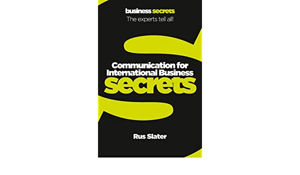 Communication For International Business Collins Business Secrets