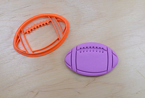 Football Cookie Cutter (3.5 x 2.1 inches)
