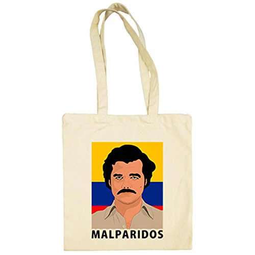 Bolsa Escobar De Tela Narcos Pablo Beige Malparidos 8vr8IBnPx