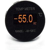 Mini OLED DC 12V/24V Digital Termómetro OLED Pantalla