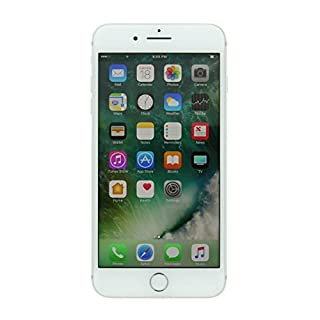 Apple iPhone 7 Plus, 256GB, Silver - For AT&T / T-Mobile (Renewed)