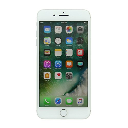 Apple iPhone 7 Plus, Fully Unlocked, 32GB - Silver (Renewed)