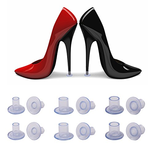 c0ad928987fd9 Oldhill High Heel Stiletto Protectors 6 Pairs - Gifts for Outdoor Wedding  or Event, Protecting Heels from Grass, Gravel, Bricks, and Cracks