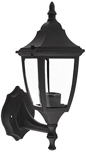 Designers Fountain 2462-BK Value Collection Wall Lanterns, Black (Budget Cast Aluminum Outdoor Lighting)