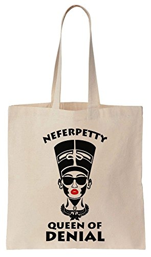 Tote Royal Bag Neferpetty Queen Wife Petty Canvas Denial Cotton Of 6qwqF4x8