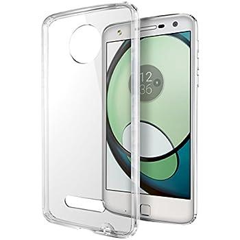 Cimo Slim Protective Cover for Motorola Moto Z Play - Hybrid Clear