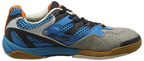 Hi-Tec Ad Pro Elite - Zapatillas Deportivas para Interior Hombre Azul (Electric/Black/Orange 031)