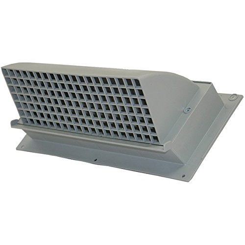 BUILDERS BEST 111872 Nemco(R) WC310 Heavy-Duty Plastic Range Hood Vent (Gray)