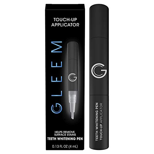Gleem TEETH WHITENING PEN • TOUCH-UP APPLICATOR | Helps Remove Surface Stains | EASY WHITENING | ON-THE-GO