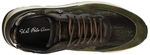U Valery Sneakers donna militare da verde Assn Milg Verde s polo wrxrq4