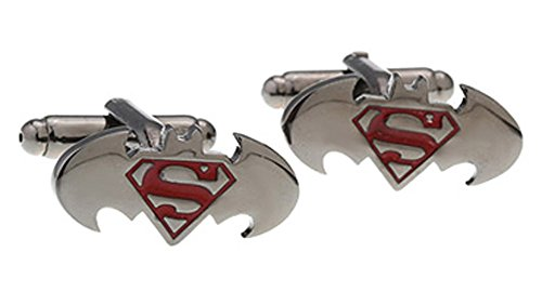 Superman Justice Cufflinks Superhero Stainless product image