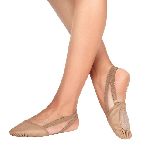 Leather Dance Half Sole,T8970TANXL,Tan,XL
