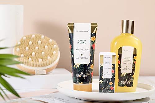 Spa Gifts for Women, Spa Luxetique Spa Gift Basket, Luxury 15pcs Bath Set Includes Bath Bombs, Bubble Bath, Hand Cream…