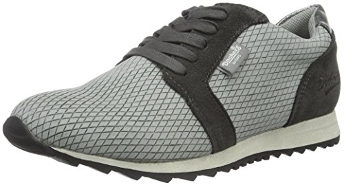 Dockers by Gerli Damen 38ml206-602 Sneakers Grau (Grau 200)
