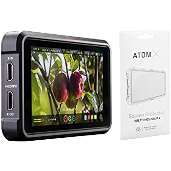 Amazon.com : Atomos Ninja V with Screen Protector : Camera ...