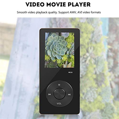 Ciglow MP3 MP4 Player 8GB with FM Radio, Portable Music Video Player with 1.8 Inch Color Screen by Ciglow (Image #1)